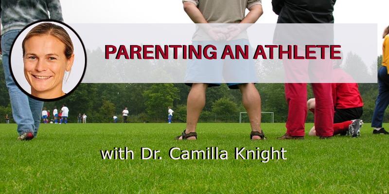 Dr. Camilla Knight children in sports